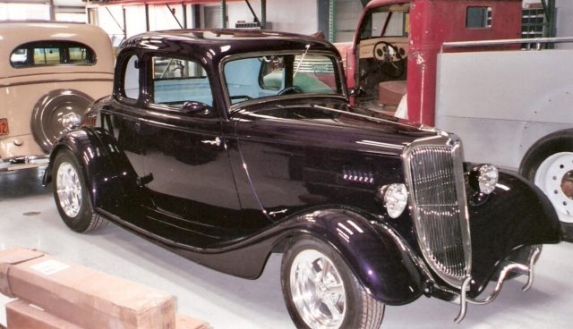1934 ford 5 window coupe classic car restoration custom