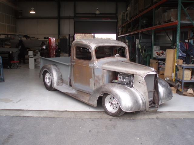 1937 Chevy Pickup Classic Car Restoration Custom Car Fabrication