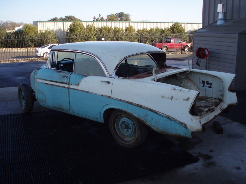 1956 Bel Air 4 Door Hardtop - Classic Car Restoration, Custom Car ...