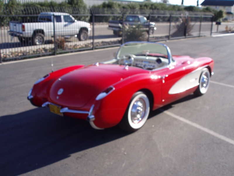 Corvette For Sale >> 1956 Corvette - Classic Car Restoration, Custom Car ...